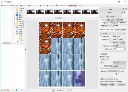 PhotoScape for Windows 7